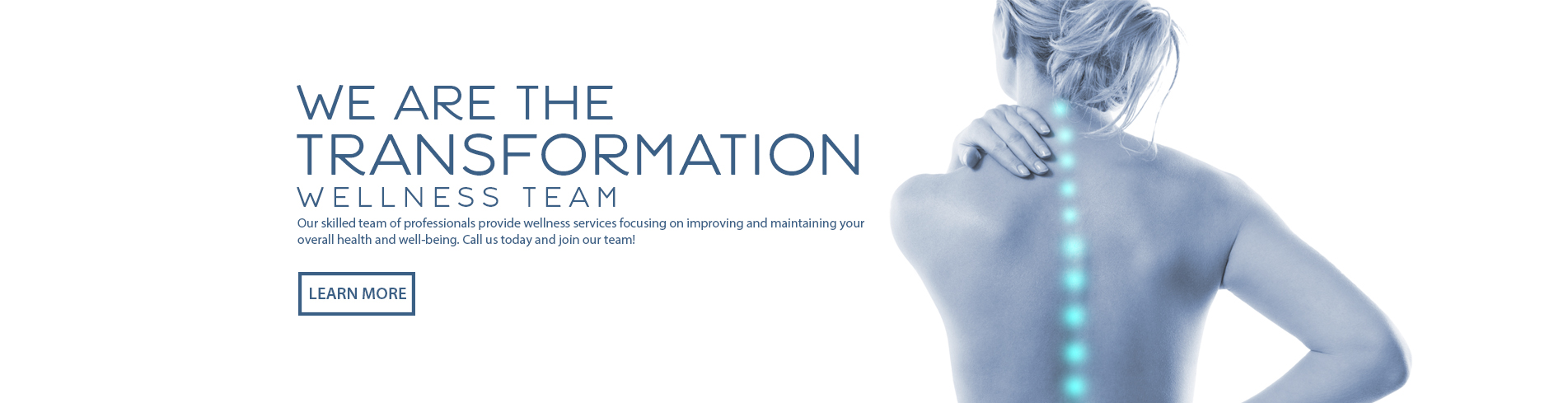 We are the Transformation Wellness Team