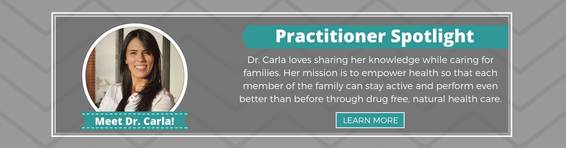 Marietta Chiropractor, Dr. Carla Marrero Sanchez